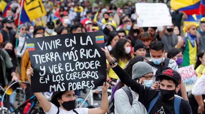 Las marchas en Colombia contra el Gobierno de Duque completan 18 días - El Comercio