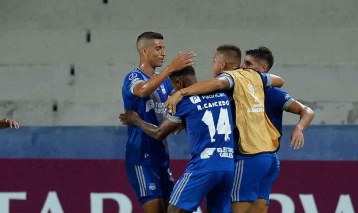 Emelec empató 1-1 ante el Deportes Tolima, por la Copa Sudamericana en Lima, Perú.