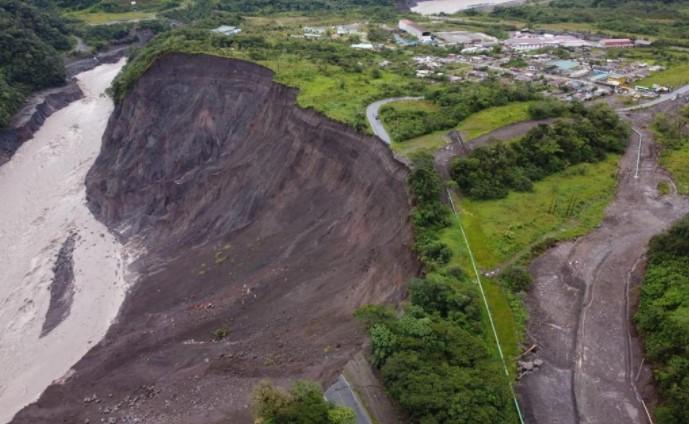 Petroecuador construirá dos bypass de 422 metros, uno para el SOTE y otro para el poliducto Shushufindi – Quito, en el sector San Luis por la erosión regresiva. Foto: Twitter Petroecuador