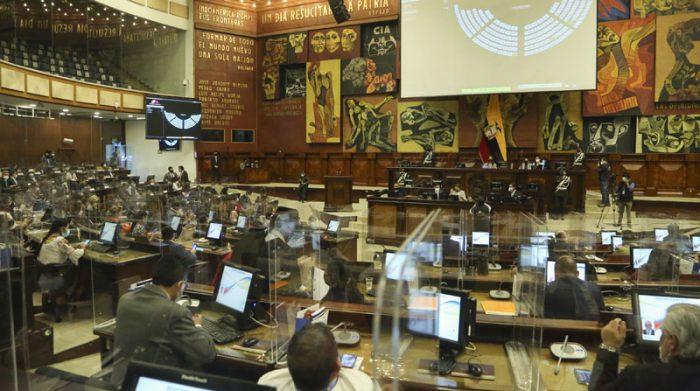 La Asamblea Nacional se reúne el sábado 15 de mayo del 2021 para nombrar al Presidente del Legislativo. Foto: Flickr Asamblea Nacional