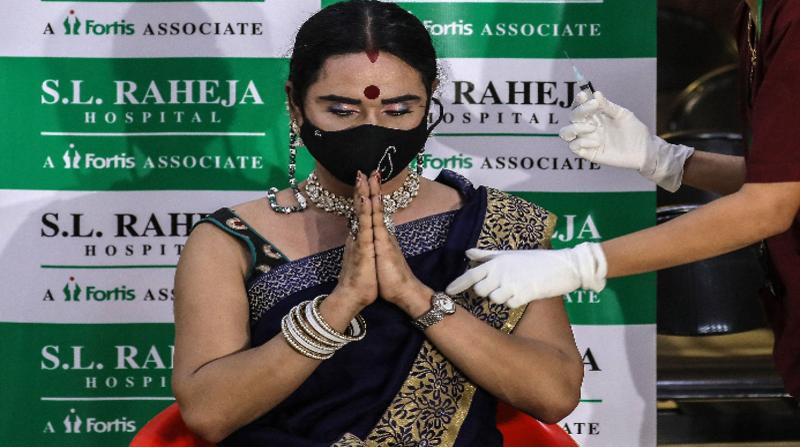 La India marca récord de vacunación con 8 millones de dosis en una jornada
