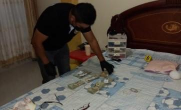 Las municiones fueron halladas en una vivienda, en donde también había dinero en efectivo. Foto: FF.AA.