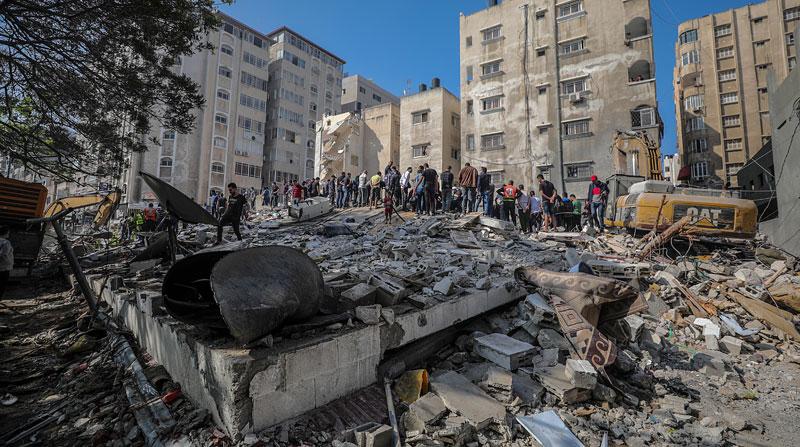 Israel lanza ataques aéreos en Gaza, según fuentes de seguridad palestinas