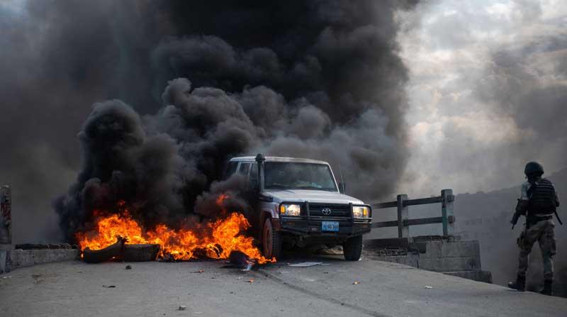 Oraciones, protestas y barricadas por el asesinado del presidente haitiano Moise