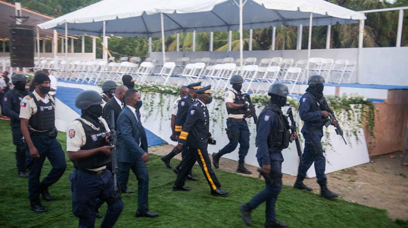 Comienza el velatorio del asesinado presidente de Haití Jovenel Moise