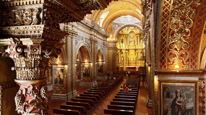 El arte colonial atrae a los turistas a Quito, cada año. Foto: Archivo/ EL COMERCIO