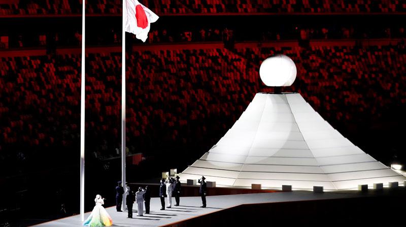 Comienza la ceremonia inaugural de los Juegos Olímpicos de Tokio
