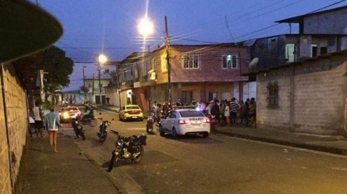La Policía indicó que los vehículos de los victimarios fueron hallados en las inmediaciones del sector. Foto redes sociales