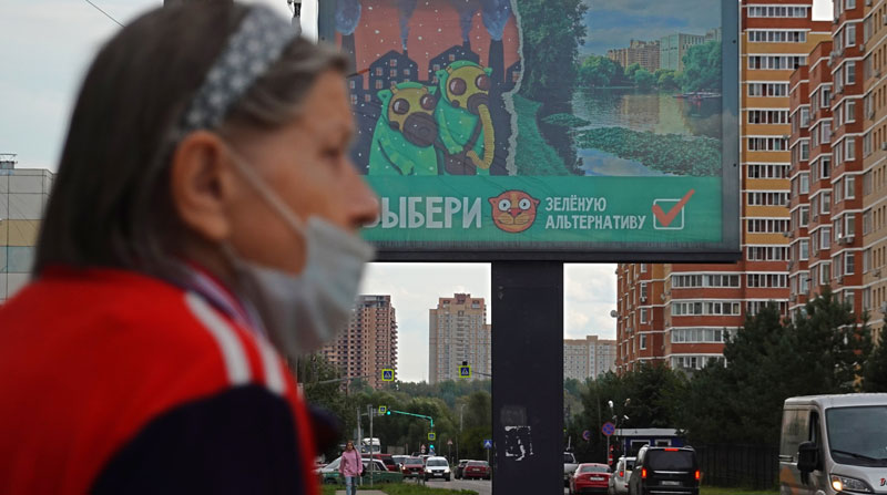 Rusia registra 820 muertes por covid-19 en un día, un nuevo máximo diario -  El Comercio