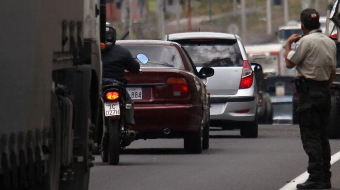 La medida de restricción vehicular Hoy no circula regulará el paso de los automotores en la segunda semana de septiembre del 2021. Foto: Julio Estrella/ EL COMERCIO