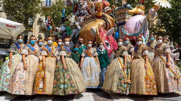 Foto referencial. Las fallas en Valencia son grandes figuras que se colocan en las calles de esta ciudad española durante sus fiestas, declaradas patrimonio inmaterial de la Humanidad por la Unesco. Foto: Facebook Junta Central Fallera