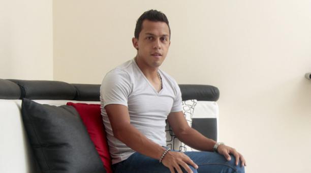 El jugador Edison Vega. Foto: EL COMERCIO
