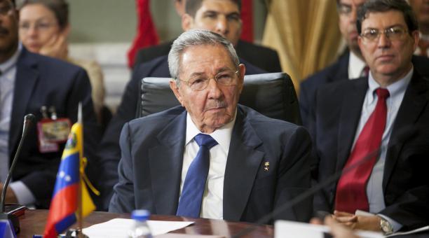 El presidente de Cuba, Raúl Castro, reiteró la 'firme e irrevocable' solidaridad de su gobierno con Venezuella. Foto: Santi Donaire/ EFE.