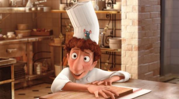 La cinta animada 'Ratatouille' es ya un clásico del cine gastronómico. Foto: IMDb