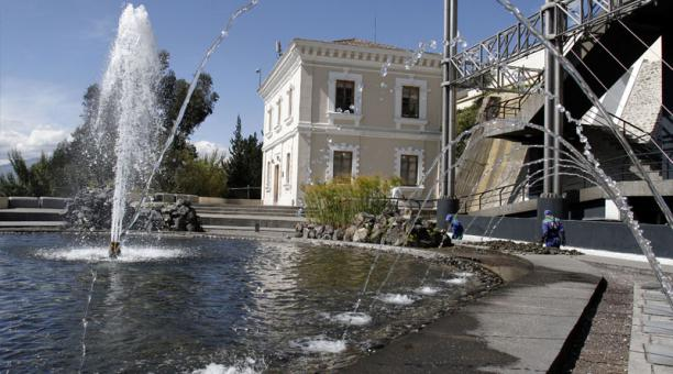En Yaku Museo del Agua reposarán los libros científicos del fondo Fernando Ortiz Crespo. Crédito: Archivo/EL COMERCIO