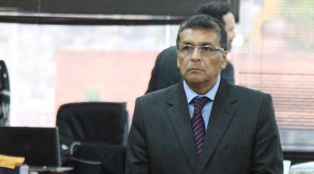 En octubre, el excomandante de la Policía, Fausto Tamayo, fue condenado a 13 años. Foto: Archivo/EL COMERCIO