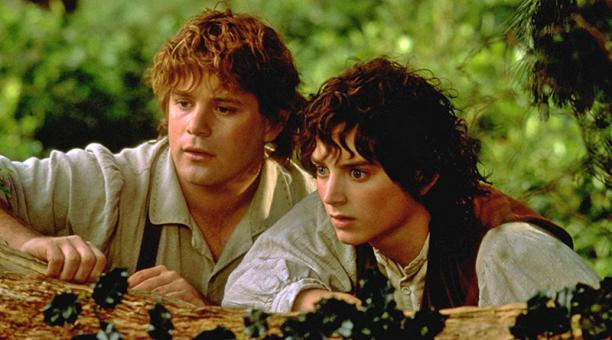 Sean Astin y Elijah Wood en 'The Lord of the Rings: The Fellowship of the Ring' (2001). Foto: IMDB