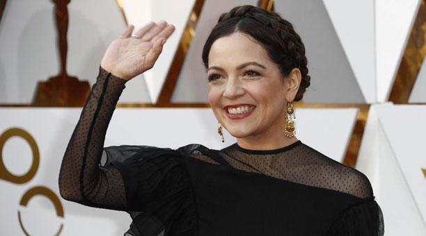 Natalia Lafourcade fue la primera mexicana en 15 años en interpretar una canción durante la gala de los Oscar. Foto: EFE.