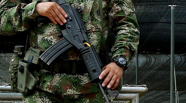 El líder de una comunidad en la zona fronteriza del sur de Colombia fue raptado por un grupo disidente de las FARC. Foto: EFE