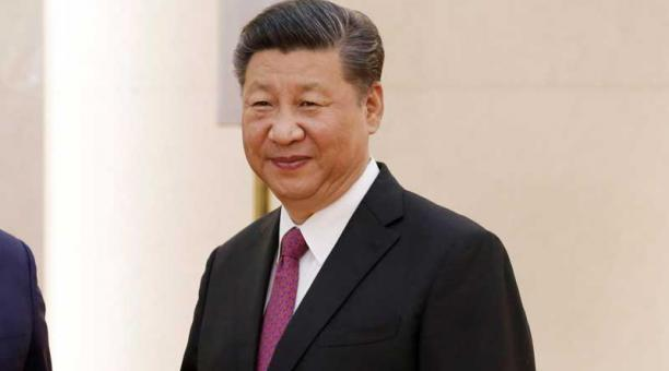 El presidente de China Xi Jinping durante un encuentro con delegados de la cumbre de secretarios de seguridad de la Organización de Cooperación de Shanghái en Pekín (China) hoy, 22 de mayo de 2018. Foto: EFE