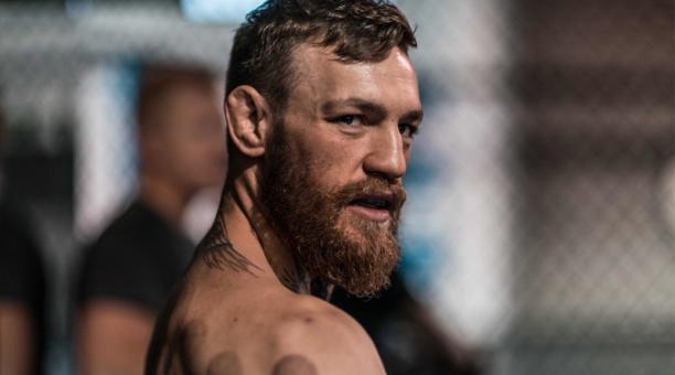 Conor McGregor, peleador irlandés de artes marciales mixtas. Foto de la cuenta Twitter  @TheNotoriousMMA