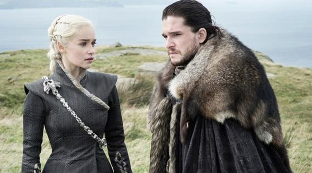 Con 22 candidaturas, la serie de fantasía épica 'Game of Thrones' se postuló como favorita para estos premios por delante de 'Westworld' y 'The Handmaids Tale', que obtuvieron 21 y 20 nominaciones, respectivamente. Foto: captura de pantalla de Twitter de