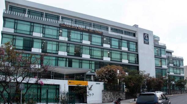 Edificio de la Contraloria General del Estado.Foto Marcelino Rossi / EL COMERCIO