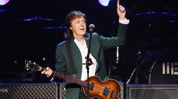 El músico británico Paul McCartney trabaja en su primer musical, una adaptación del filme '¡Qué bello es vivir'. Foto: EFE