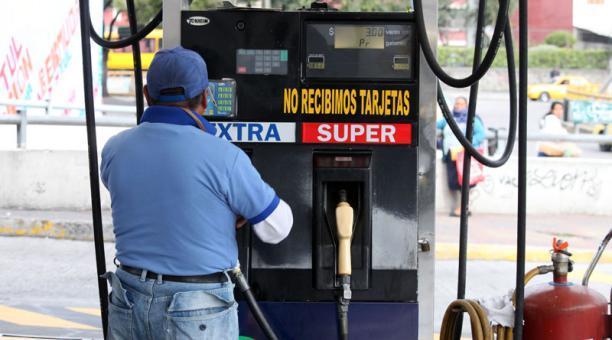 Imagen referencial. Estación de servicio de gasolina de la Villaflora. Foto: Archivo/ EL COMERCIO