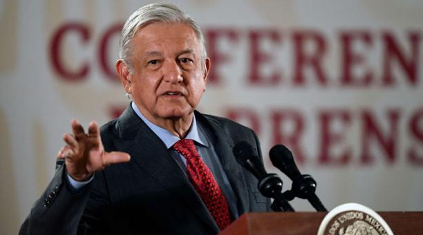 Andrés Manual López Obrador, presidente de Mexico, dejo abierta la posibilidad de entrevistarse con él, si fuese necesario.  Foto: AFP