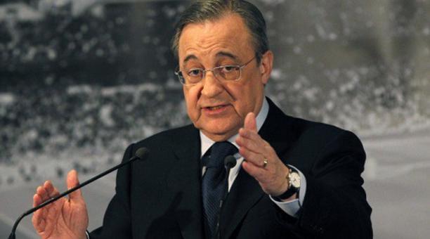 Florentino Pérez, presidente del Real Madrid. Foto: Flickr