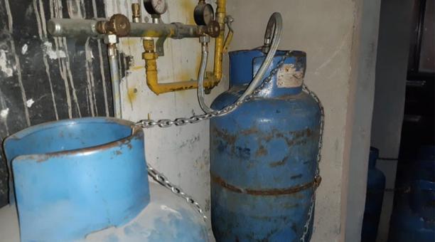 La ARCH dispuso el intercambio de 30 cilindros de gas licuado de petróleo (GLP) de uso doméstico por industriales. Foto: Cortesía