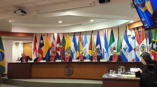 La Comisión Interamericana de Derechos Humanos (CIDH), que actúa como fiscal ante la corte, señaló en su informe sobre el caso que el Estado de Nicaragua es responsable de violación al derecho a la vida y a la integridad personal de las víctimas. Foto: Tw