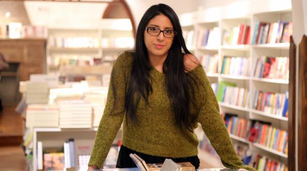 Mónica Ojeda, escritora guayaquileña. Foto: Archivo/ EL COMERCIO