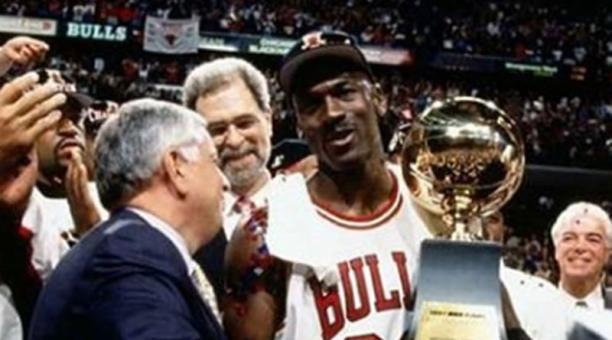Michael Jordan, uno de los mejores jugadores de baloncesto de todos los tiempos. Foto de la cuenta de Instagram atodamechadeportes