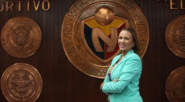 Lucía Vallecilla fue proclamada como presidenta de El Nacional en el 2019 tras una Asamblea Extraordinaria. Foto: Archivo / EL COMERCIO