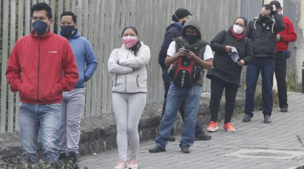 El Pacto Social por la vida y el Ecuador hizo un llamado a conformar una plataforma para combatir distintos aspectos de la crisis generada por la pandemia del coronavirus. Foto: Eduardo Terán/ EL COMERCIO