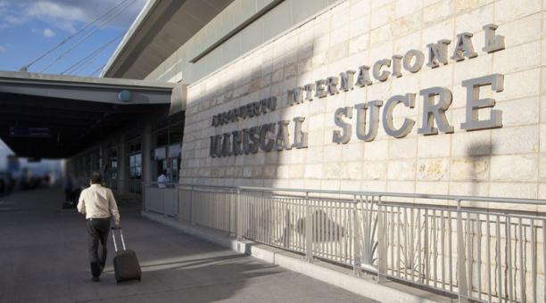 El Aeropuerto de Quito será la sede de la aerolínea Ecuatoriana Airlines. Foto: Archivo/ EL COMERCIO
