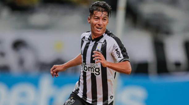 El mediocampista Alan Franco anotó su primer doblete con el Atlético Mineiro en el Brasileirao. Foto: Flickr del Atlético Mineiro.