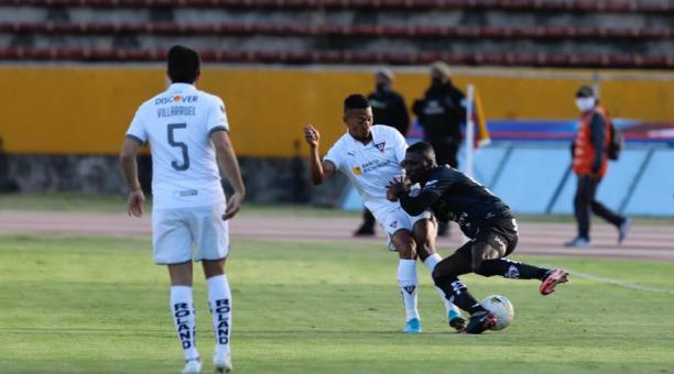 Liga de Quito e Independiente del Valle jugarán la última fecha de la Copa Libertadores esta semana. Tomado de IDV