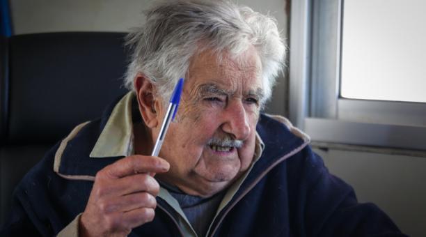 El expresidente de Uruguay José Mujica durante una entrevista con Efe en su vivienda, en Montevideo (Uruguay). Foto: EFE