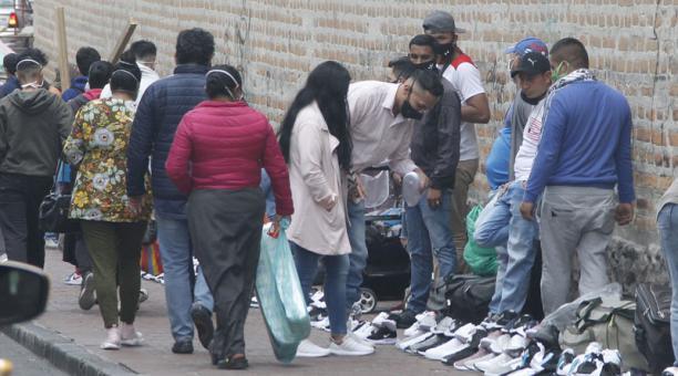 Quito registra 54 291 casos confirmados de covid-19 hasta este sábado 31 de octubre del 2020. Foto: Eduardo Terán / EL COMERCIO