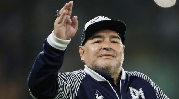 Diego Maradona, de 60 años y quien es considerado uno de los mejores futbolistas de la historia. Foto: Reuters.