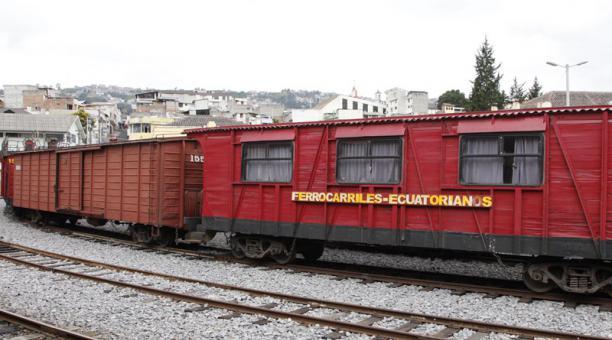 El INPC, en un comunicado, señaló que aún está en curso un análisis para determinar el valor patrimonial de los bienes que le pertenecen a Ferrocarriles del Ecuador. Foto: Archivo / EL COMERCIO