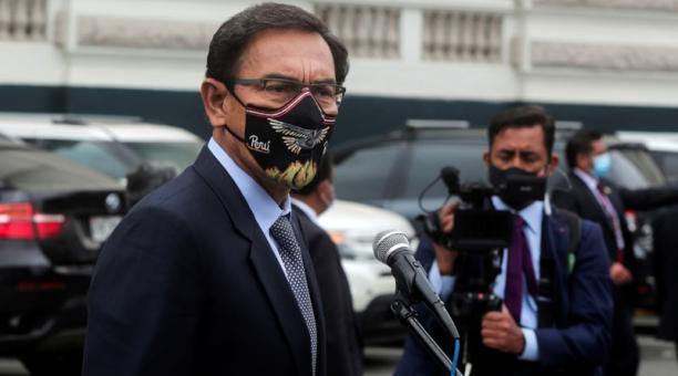 Martín Vizcarra lamentó la decisión del Tribunal Constitucional de Perú en su cuenta de Twitter. Foto: REUTERS.