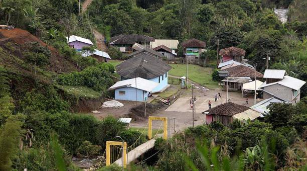 El proyecto minero Llurimagua ubicado en la provincia de Imbabura. Foto: archivo / EL COMERCIO