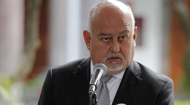 Mauricio Pozo, ministro de Finanzas, viajará el miércoles 16 de diciembre del 2020 a Washington, EE.UU. Foto: Patricio Terán / EL COMERCIO