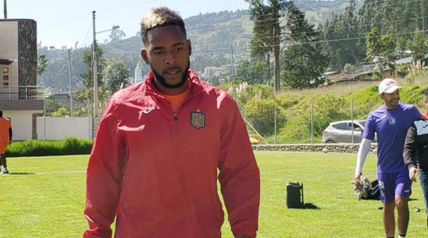 El jugador Anthony Bedoya deberá asistir al llamado de la LigaPro por sus declaraciones. Archivo/EL COMERCIO