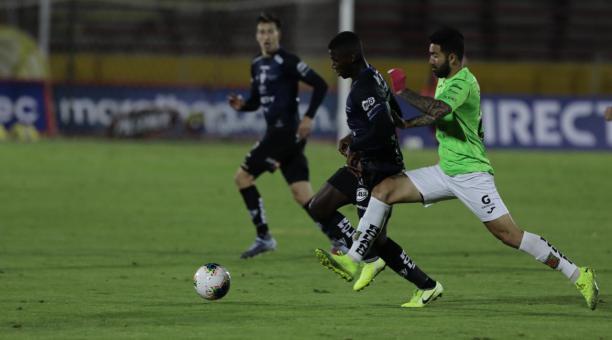 Moises Caicedo podría cerrar su fichaje con el Manchester United. Foto: Ind. del Valle