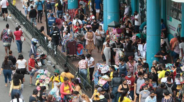 El aumento de la informalidad en la ciudad mostró la fuerza con que golpeó la pandemia en el 2020.